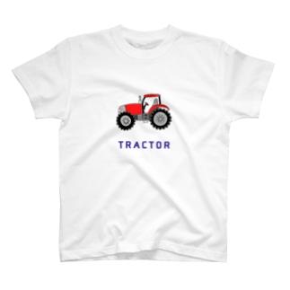 トラクター T-shirts