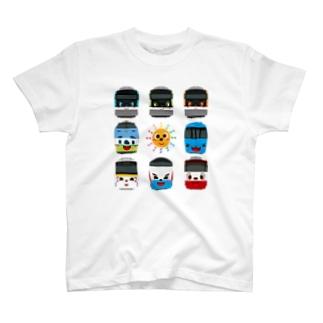 サポートキャラクター T-shirts