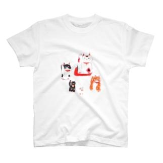 まねくねこ T-shirts