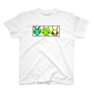 虫研究家さん T-shirts