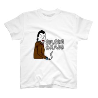 SMOKE CRACK T-shirts