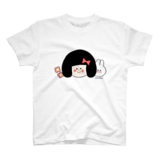 リボンちゃんとうさこちゃん T-shirts