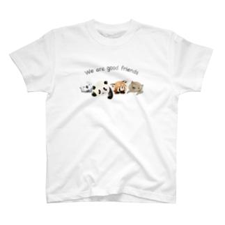 なかよしアニマル T-shirts