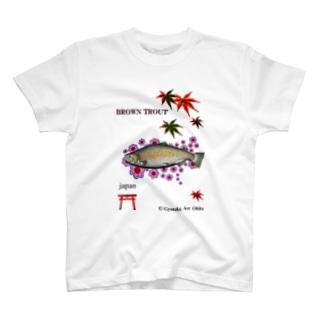ブラウントラウト  T-shirts