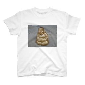 布袋さまグッズ メタボでも大丈夫 T-shirts