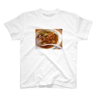 豚キムチラーメン大好き T-shirts