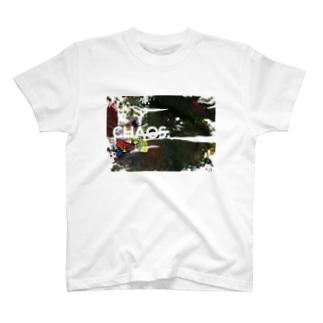 「CHAOS」カオス!02 T-shirts