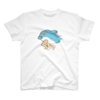 走る!鯉人間 T-shirts
