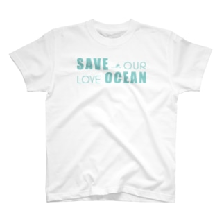 SAVE OUR LOVE OCEAN T-shirts