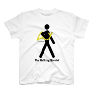 The Walking Hornist w/ Logo T-shirts