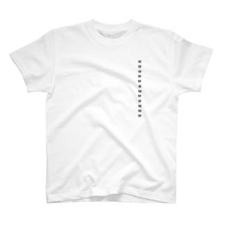 サイズシール付き T-shirts