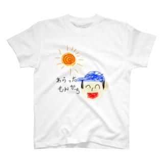 わらったもんがちグッズ(絵入り) T-shirts