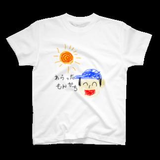 わらったもんがちプライベートオンラインショップのわらったもんがちグッズ(絵入り) T-shirts