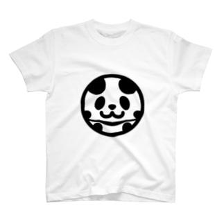 まんまるパンダ T-shirts