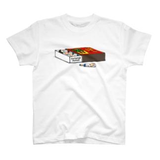 マッチ箱【EH】 T-shirts