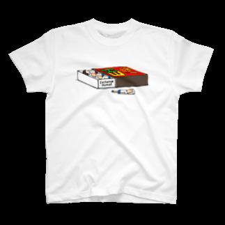 Exchange-Humanのマッチ箱【EH】 T-shirts