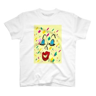 confetti T-shirts
