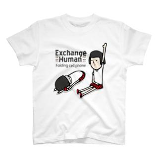 折りたたみ式携帯電話【EH】 T-shirts