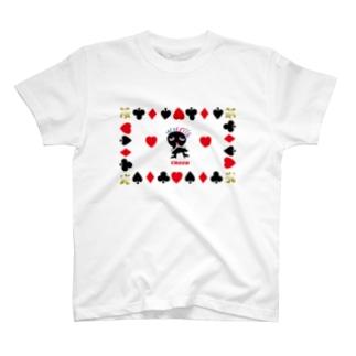 ハートを探し、恋占いのクレコちゃん T-shirts