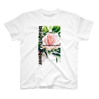 beautifulflower T-shirts