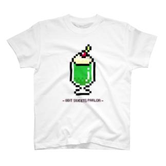 8bit♡メロンクリームソーダ T-shirts