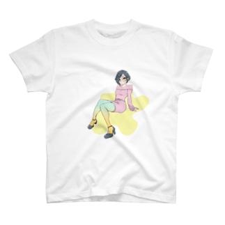カラータイツ T-shirts