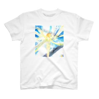 戦場の風使い(ロゴ無し ver.2) T-shirts