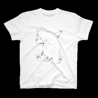 つかさのはりつくデブ猫 T-shirts