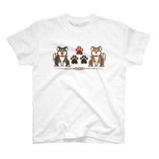 どっと絵 お犬様 T-shirts