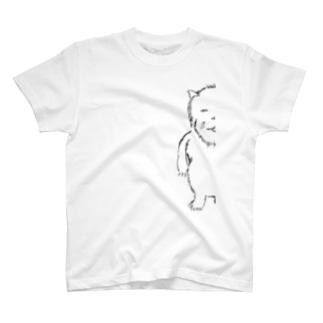 ぶさねこ半分。 T-shirts