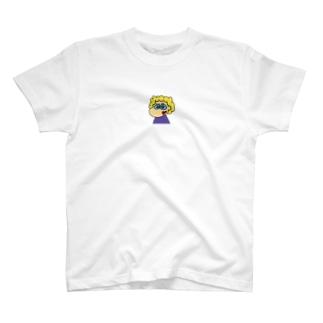 カラフルパーマちゃん T-shirts