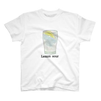レモンサワー T-shirts