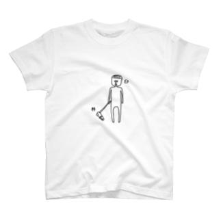 杵と臼のツーショット T-shirts