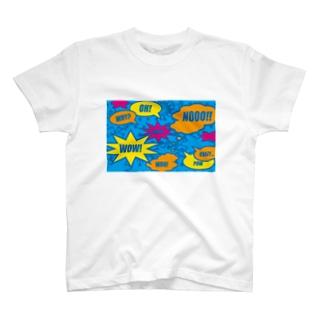 コミックBLUE T-shirts