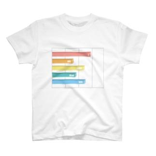 グラフ T-shirts