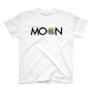 MOON THC blackfont T-shirts