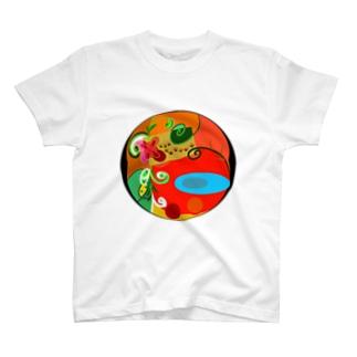 猫の伝言板 T-shirts