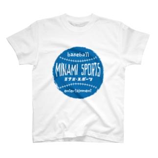ミナミ・スポーツロゴ T-shirts