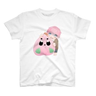 きゃずももと小さな仲間達 T-shirts