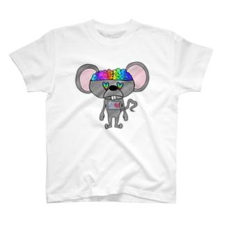 電脳ネズミ T-shirts