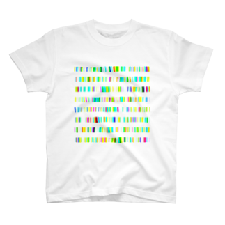レオナのColor Bars T-shirts