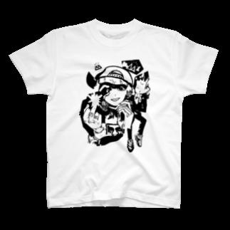 スドウ創太のSaraSimons Tシャツ