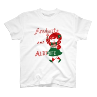 Andante AND ALDENTE T-shirts