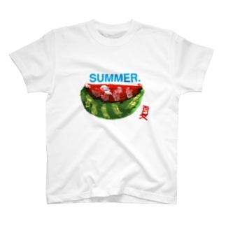 すいかSUMMER T-shirts