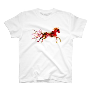 Red Horse Tシャツ