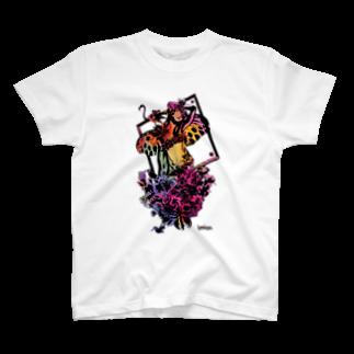 helocdesignのsexy girl Tシャツ
