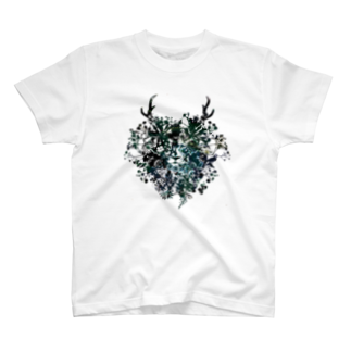helocdesignのFlower Lion T-shirts