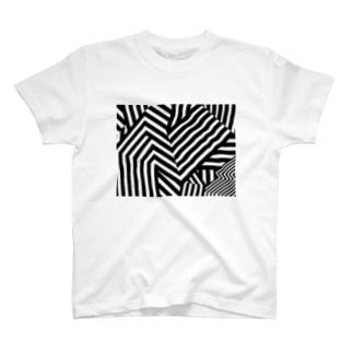 ダズル迷彩 バージョン2 T-shirts