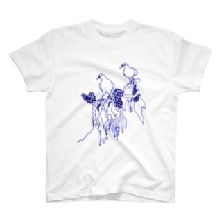 キノコバト T-shirts