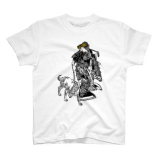 伏姫と八房 T-shirts